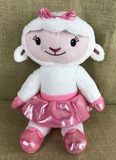 """Disney Doc McStuffins TY Plush Figure 13"""" Lambie Plush Figure"""