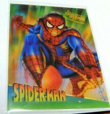 Spider-man Clear Chrome #9 1995 Fleer Ultra Card