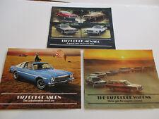 Lot of 3 1977 Dodge Sales Brochures, Monaco, Aspen & Wagons