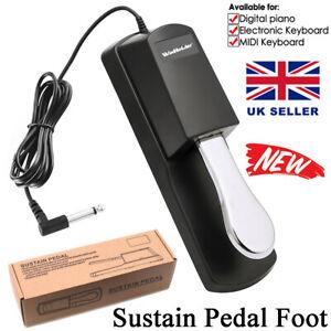 WinHolder Damper Sustain Foot Pedal Switch for Yamaha Casio Piano Keyboard UK