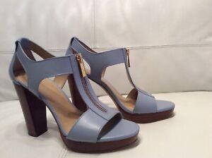 New Michael Kors Sandals Leather Heels  US 8,5 M