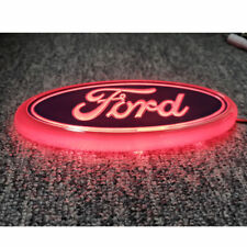 150 x 60MM Blue LED For Ford Bonnet Boot Badge Logo Focus Mondeo Transit 1779943