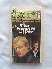 THE MAN FROM U.N.C.L.E.-#6-G-590-ACE BOOKS-THE VAMPIRE AFFAIR