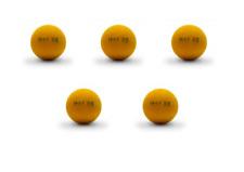 5 balles ITSF RS  officielles Championnat babyfoot compétition
