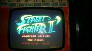 street fighter 2 champion edition jamma capcom originale-ottime condizioni RARA