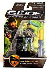 New RARE Hasbro GI Joe The Rise Of Cobra SHIPWRECK Naval Commando Action Figure