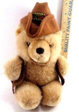 Cowboy Western Plush Teddy Bear Six Flags Magic Mountain Stuffed Animal Hat Vest
