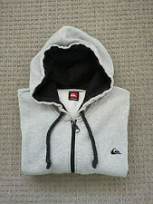 Quiksilver Light Grey Hoodie Hoody KMMSW911 New with Tags