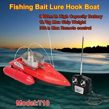 T10 Fishing Bait Lure Carp Hook RC Boat Anti Grass 6400mAh 5 Hour Sailing R2