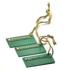 Auth ROLEX Hang tag for PRESIDENT 3 pieces Green Used ip044
