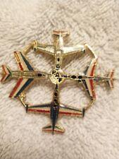 Pin's PAF avion Militaire Army Patrouille De France Grand Modèle TTBE