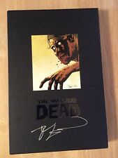 SIGNED 2x's by Robert KirkmanThe Walking Dead Omnibus Volume 4 Slipcase HC + Pic
