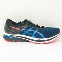 Asics Mens GT 2000 9 1011A983 Blue Black Running Shoes Lace Up Low Top Size 10
