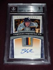 06-07 Hot Prospects Shea Weber Auto 5CLR SICK Patch RC /599 BGS9 None ^ AUTO10