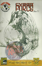 Cyber Force #0  San Diego Comic Con limited 750 (Top Cow / Image Comics)