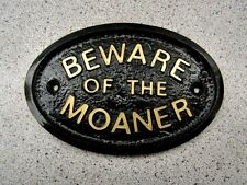 MOANER BEWARE - HOUSE PLAQUE SIGN WIFE HUSBAND CHILD