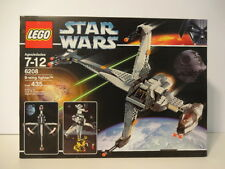 Lego Star Wars 6208 B-Wing Fighter New/Sealed NISB Free Shipping