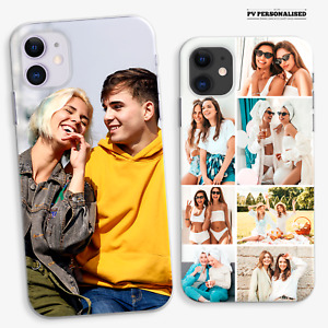 PERSONALISED PHONE CASE PHOTO COLLAGE COVER FOR IPHONE 11 12 XR SE 7 8 NICE GIFT