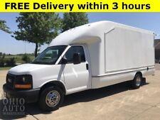 2012 GMC Savana Work Van 1 Ton 15FT Cargo Box 1-Own Cln Carfax We
