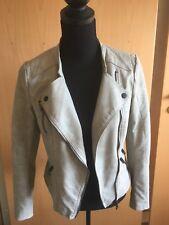 Damen Biker Jacke - Lederimitat - ONLY - Gr. 34 - Neuwertig
