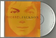 MICHAEL JACKSON Invincible Limited Edition Orange Cover CD SUPERB CONDITION