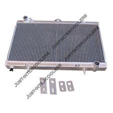 CXRacing 2-Row Aluminum Radiator For 83-88 Toyota Truck Hilux 1JZ-GTE 2JZ-GTE