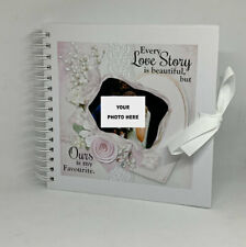 Personalised Scrapbook, Photo Album, Every Love Story is Beautiful ADD OWN PHOTO