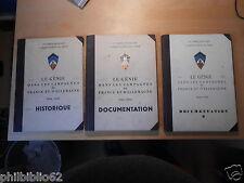 Militaria WW2 : LE GENIE DANS LES CAMPAGNES FRANCE & ALLEMAGNE 3 VOLUMES / Armée