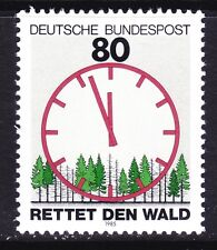 Germany 1445 MNH 1985 Forest Conservation Clock & Forest Issue Very Fine
