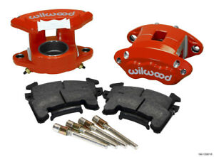 Wilwood D154 Front Caliper Kit - Red 2.50in Piston 1.04in Rotor