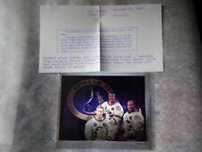 Vtg Original Apollo 14 Astronauts NASA Kodak Film 4x5 Transparency Crew Photo