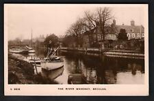 Beccles. The River Waveney by WHS Kingsway # S 6518.