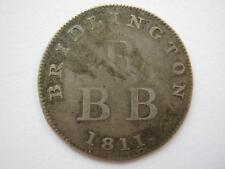 Yorkshire, Bridlington, Cook & Harwood silver Shilling token 1811.