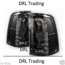 Black Housing LED TAIL LIGHTS for Ford Falcon Ute XR6 XR8 R6 FPV GT F6 GS GTP