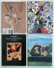 4 Christie's Sotheby's Auction Catalogs Modern Art w/ Modernist Painting (s) NR