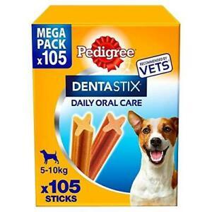 Daily Dental Chews PEDIGREE Denta Stix Small Dog 5-10kg 105 Sticks