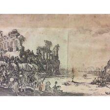 Jacques Callot 1592 1635 Le martyre de Saint Sebastien CIRCA 1631