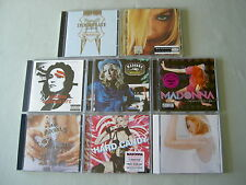 MADONNA job lot of 8 CD albums Like A Prayer Confessions On A Dance Floor Music