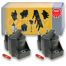 2 pcs NGK Ignition Coil 1994-2003 Chevrolet S10 2.2L L4 Spark Plug Tune Up yp