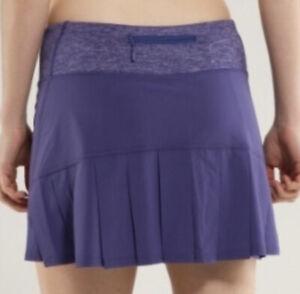 Lululemon Run Speed Skirt Royalty Purple size 4