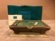 WDCC Pinocchio Pool Table Base + Box & COA