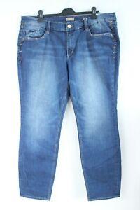 s.Oliver BNWT 89 Blue Slim Leg Low Waist Wide Hips Denim Jeans Size W46 L32