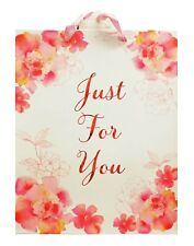 Just For You Floral Bloom Gift Bag - Large 32 X 26 X 14cm