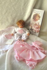 """💜 2001 Lee Middleton Baby & Me Collector's Club 8"""" vinyl weighted baby doll"""