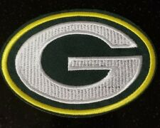 """Green Bay Packers NFL 2.5 x 3.5"""" Iron On Embroidered Patch, USA Seller FREE Ship"""