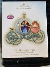 2009 Disney Cinderella Her Moment to Shine Hallmark Keepsake Ornament in Box
