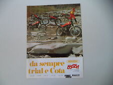 advertising Pubblicità 1979 MOTO MONTESA COTA 25/49/123/247/348/348 TRAIL