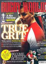 RUGBY WORLD MAGAZINE April 2011 Six Nations special, Alex Corbisiero, Lee Byrne