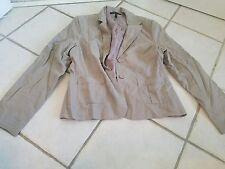 bcbg max azria NWOT blazer jacket beige size L