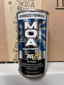 BG MOA Engine Oil Supplement Motor Oil Additive 110 -- Fast Free Shipping!!